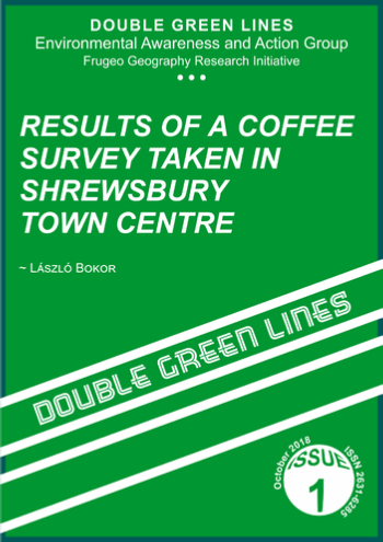 Double Green Lines, Issue 1, October 2018 (Front cover)